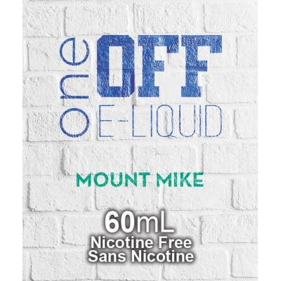 One Off Eliquid - Mt. Mike