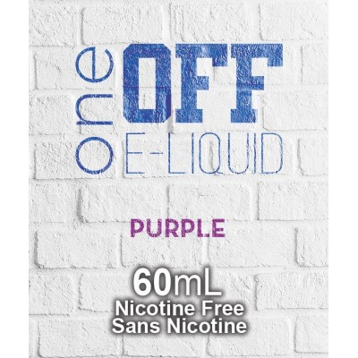 One Off Eliquid - Purple