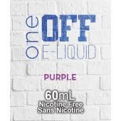 One Off Eliquid - Purple