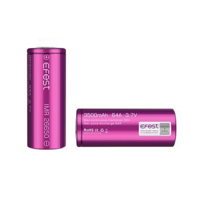 Efest Purple 26650 3500 mAh 64amp Battery