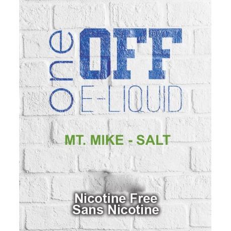 Mt. Mike SALT - One Off Eliquid