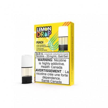 STLTH Lemon Drop Punch Pods