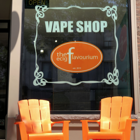 Bowmanville Vape Shop Outside
