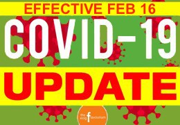 February 16 Covid UPDATE: Shop In-store Now,  Curbside Pickup and Sameday $5 Local Delivery