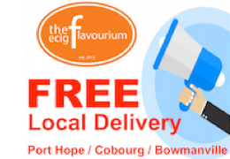 FREE LOCAL SHIPPING - Port Hope, Cobourg, Bowmanville!